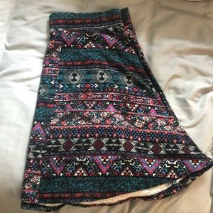 Patterned Skirt